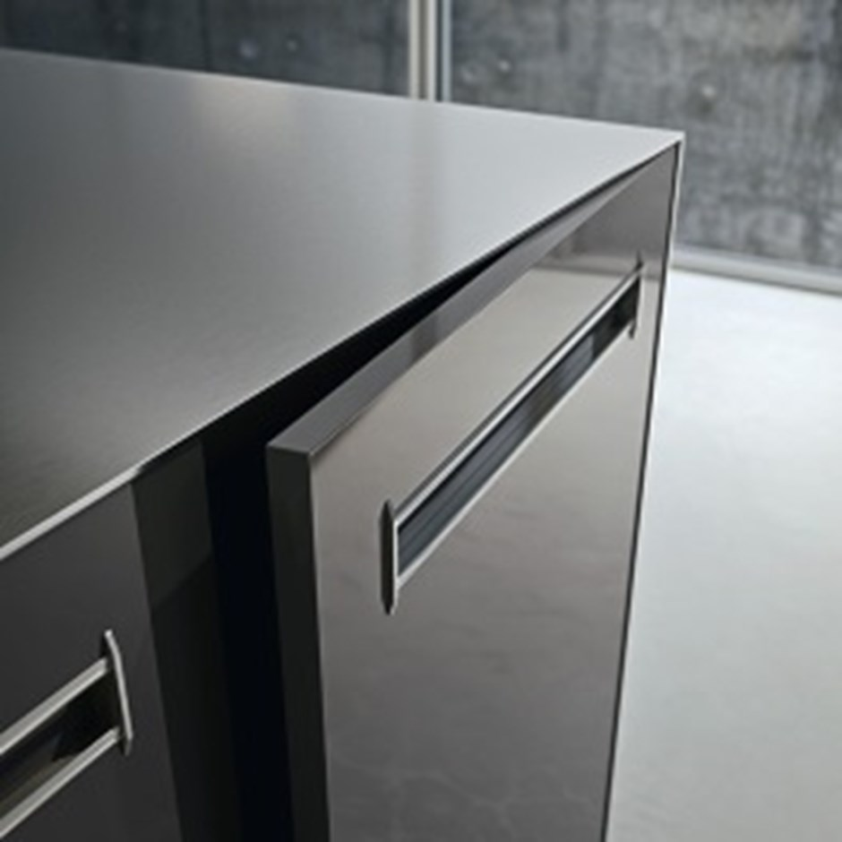 Recessed kitchen handles
