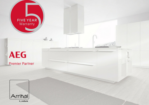 Arrital Kitchens are now AEG Premier Partners